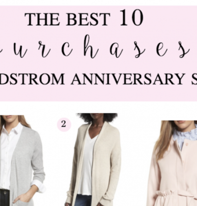 best purchased Nordstrom anniversary sale