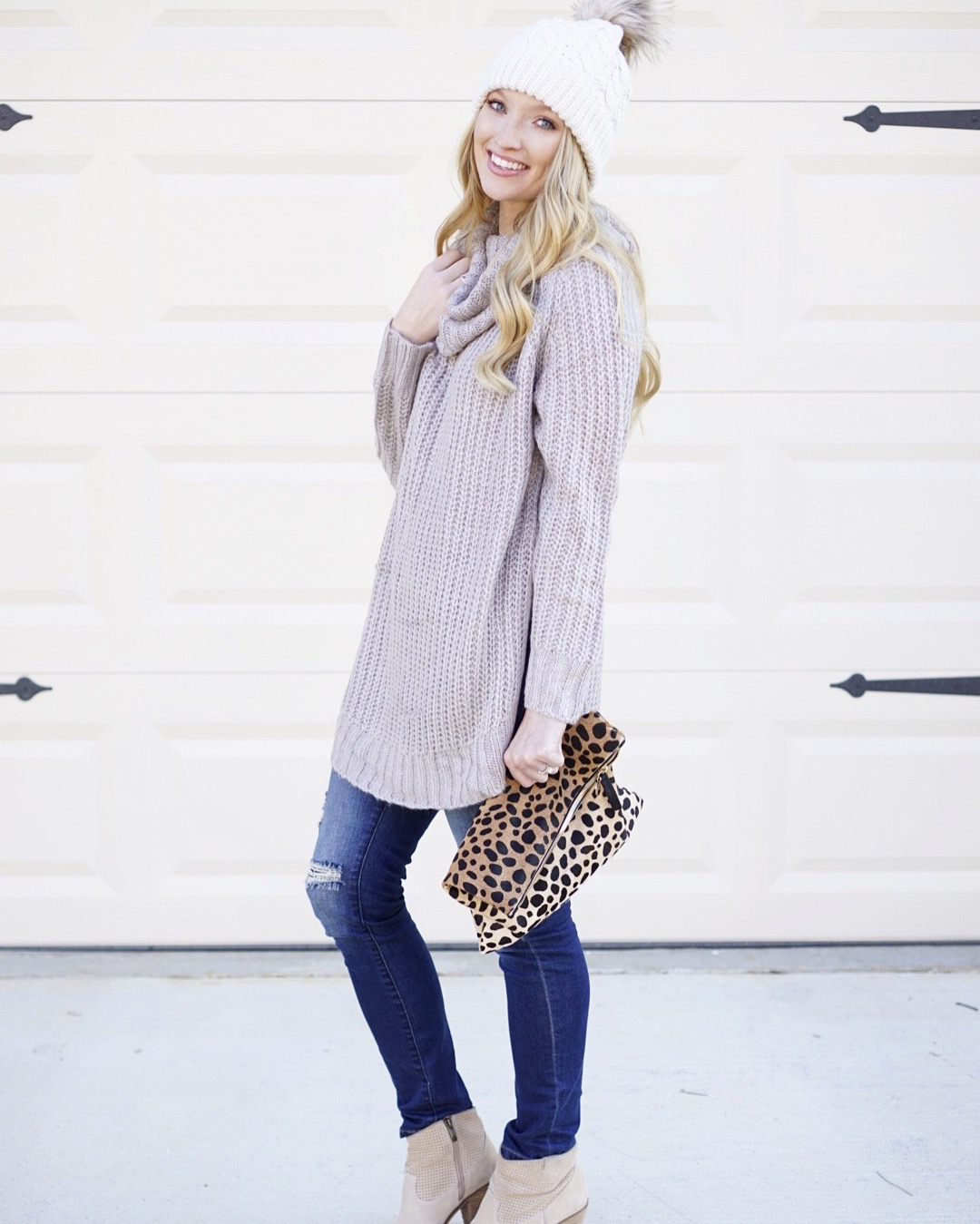 instagram outfits, affordable cowl neck sweater