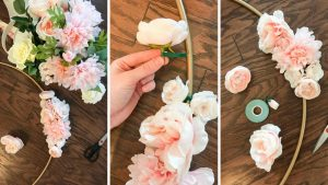 diy-bridal-shower-decor-strawberry-chic