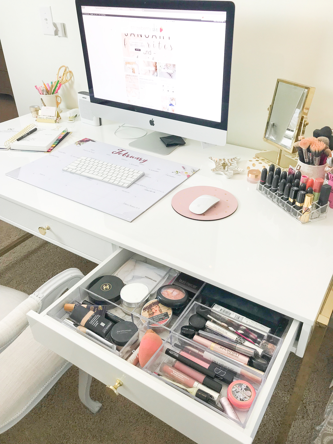 Makeup Collection And Storage A Full