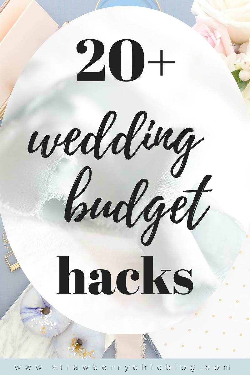 wedding budget hacks