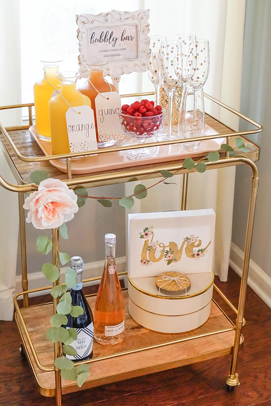 bridal-shower-mimosa-bar