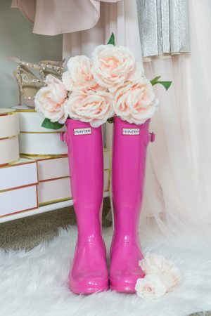 hunter boots, hunter-boot-review, strawberry chic