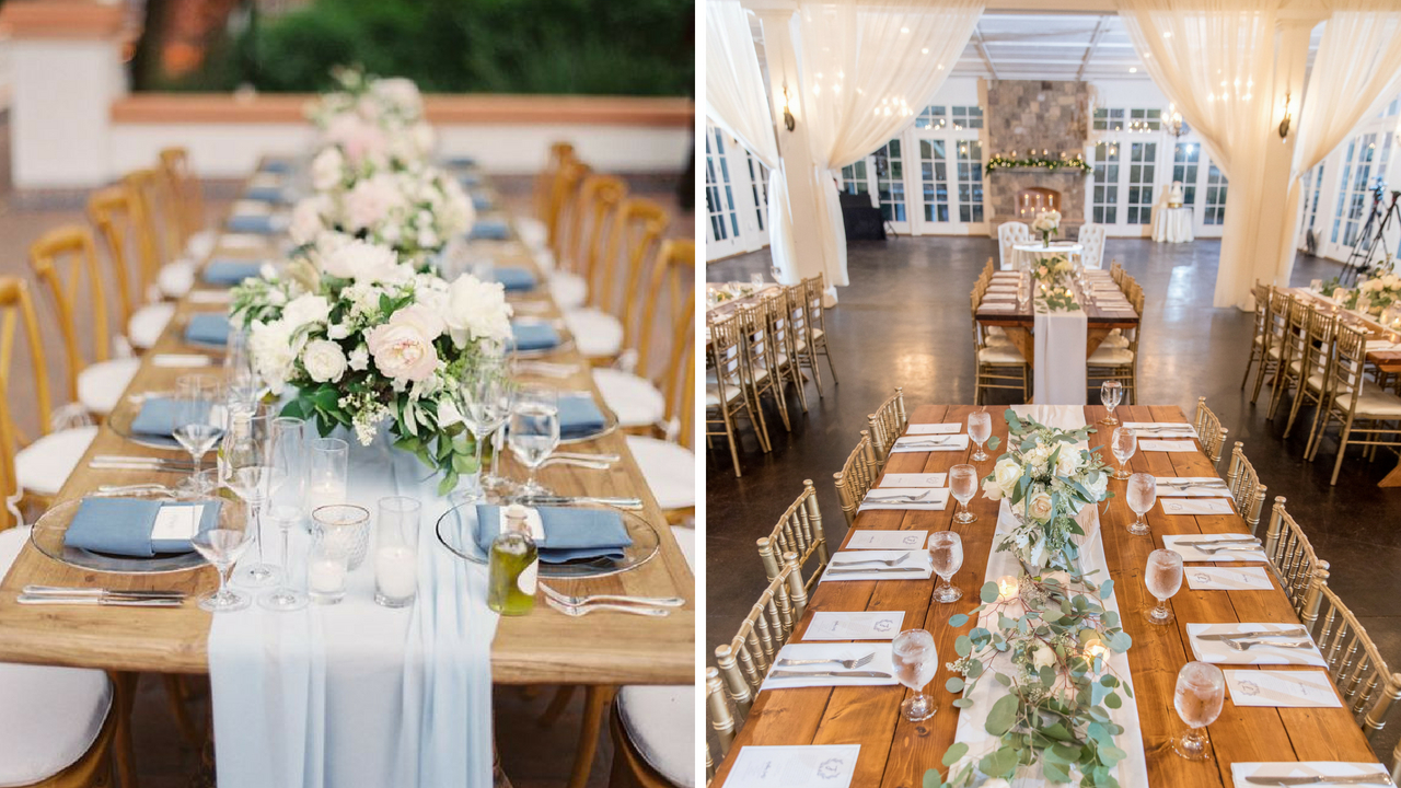 wedding table inspiration, pinterest verse reality