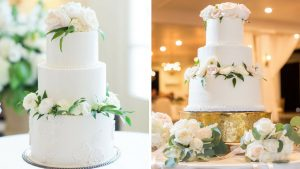 wedding cake inspiration, pinterest verse reality