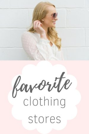 favorite clothing stores