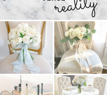 pinterest wedding verse reality