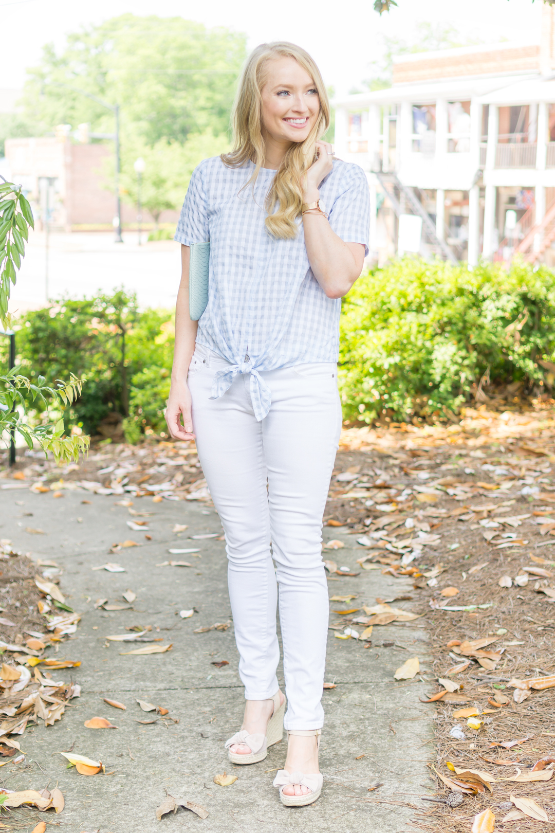 Gingham-Tie-Waist-Top, madewell-top-strawberry-chic