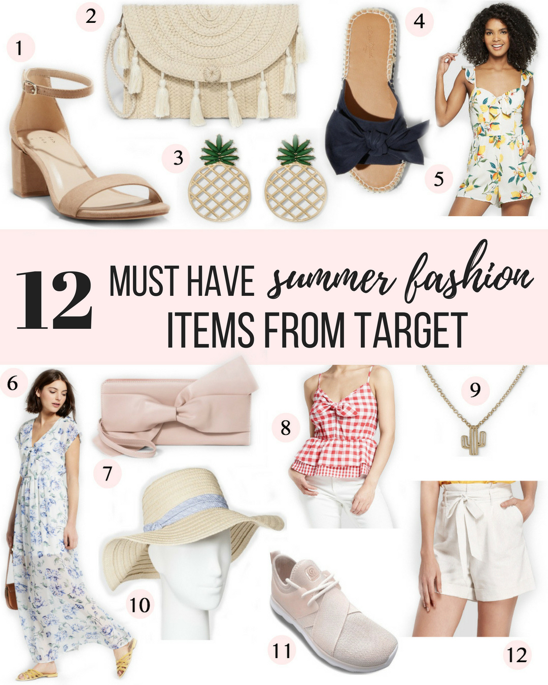 5b12e40fe3e9 12 Summer Fashion Items From Target  New affordable fashion at Target