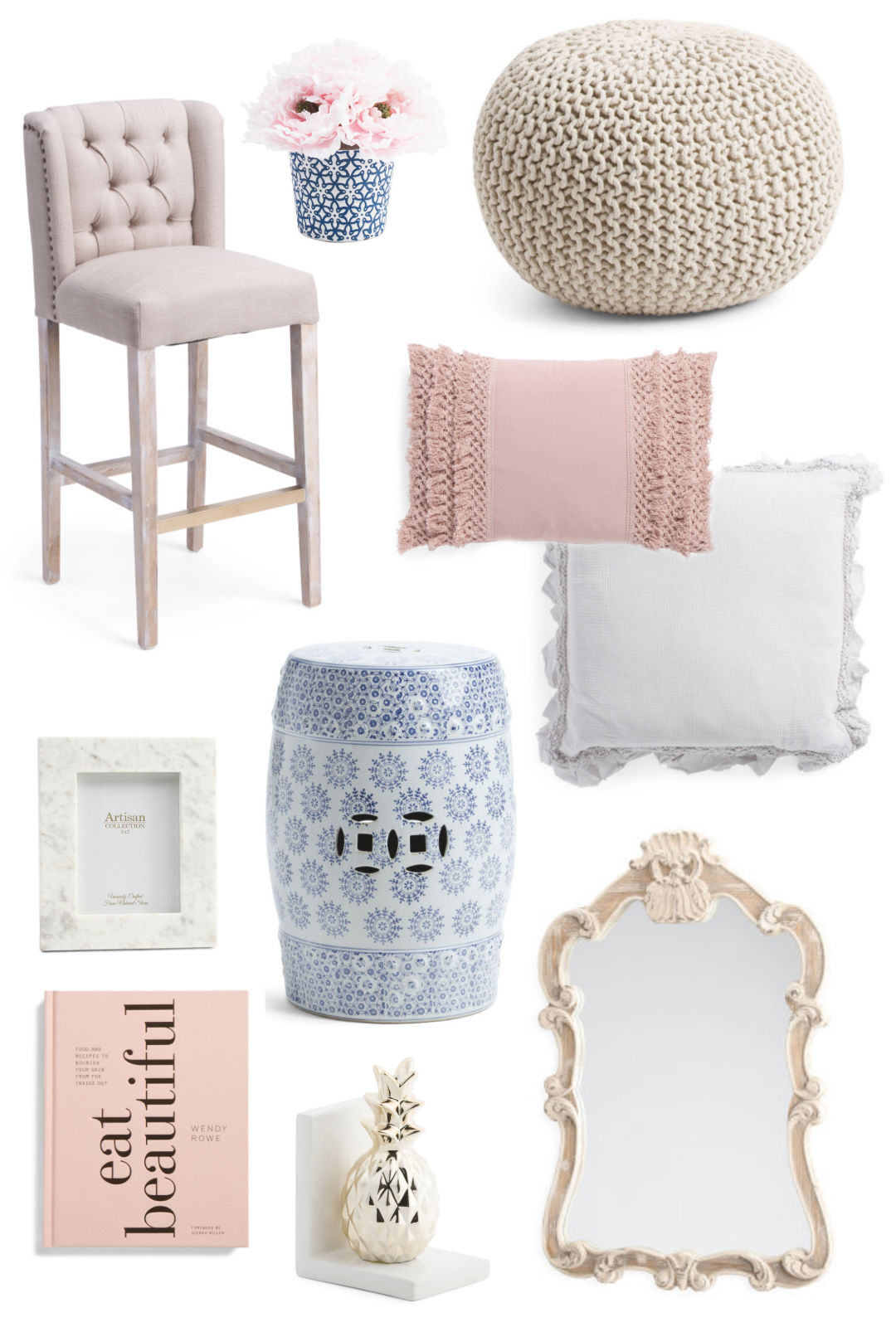 Affordable Home Decor | What's New at TJ Maxx | Strawberry Chic on hobby lobby floor vases, target floor vases, pier 1 imports floor vases, home goods floor vases,