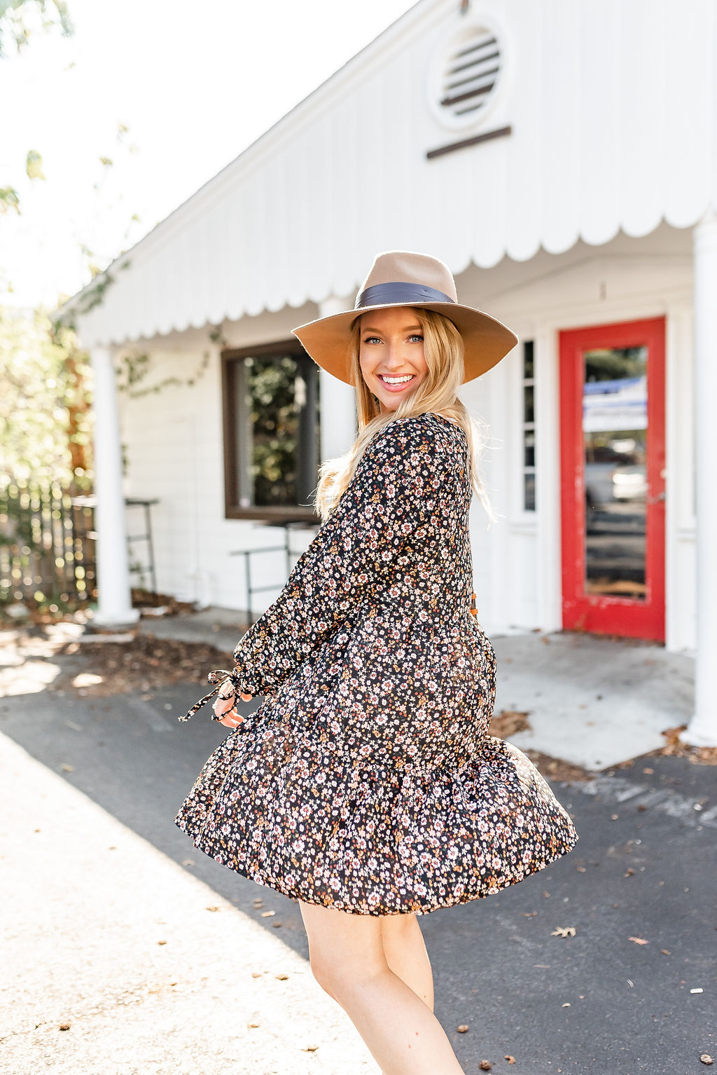 how to style hat for fall