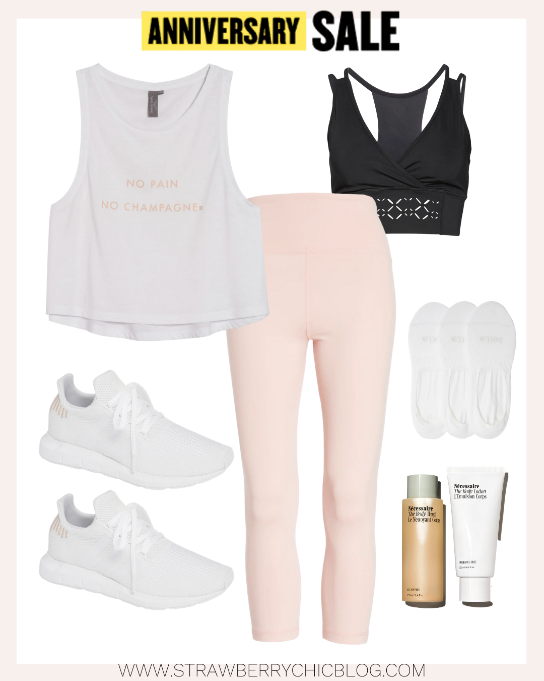 collage of sportswear as Fall Outfit ideas