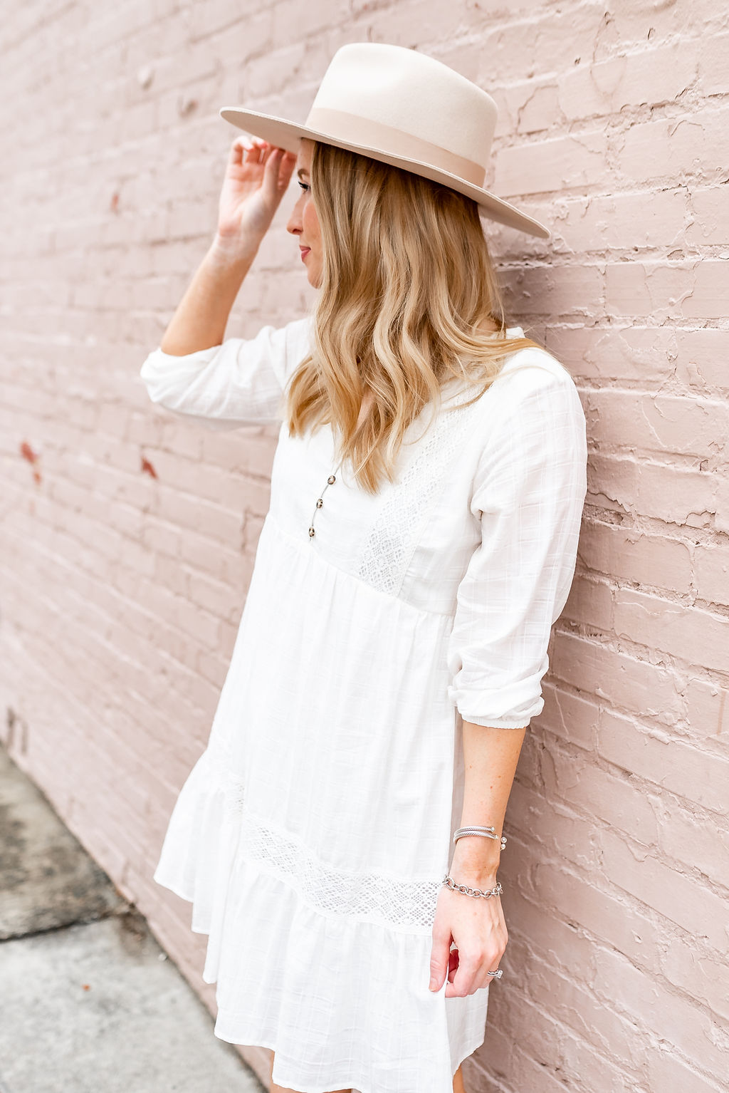 How to Style Your Favorite White Summer Dress for Fall