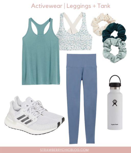 leggings and tank activewear
