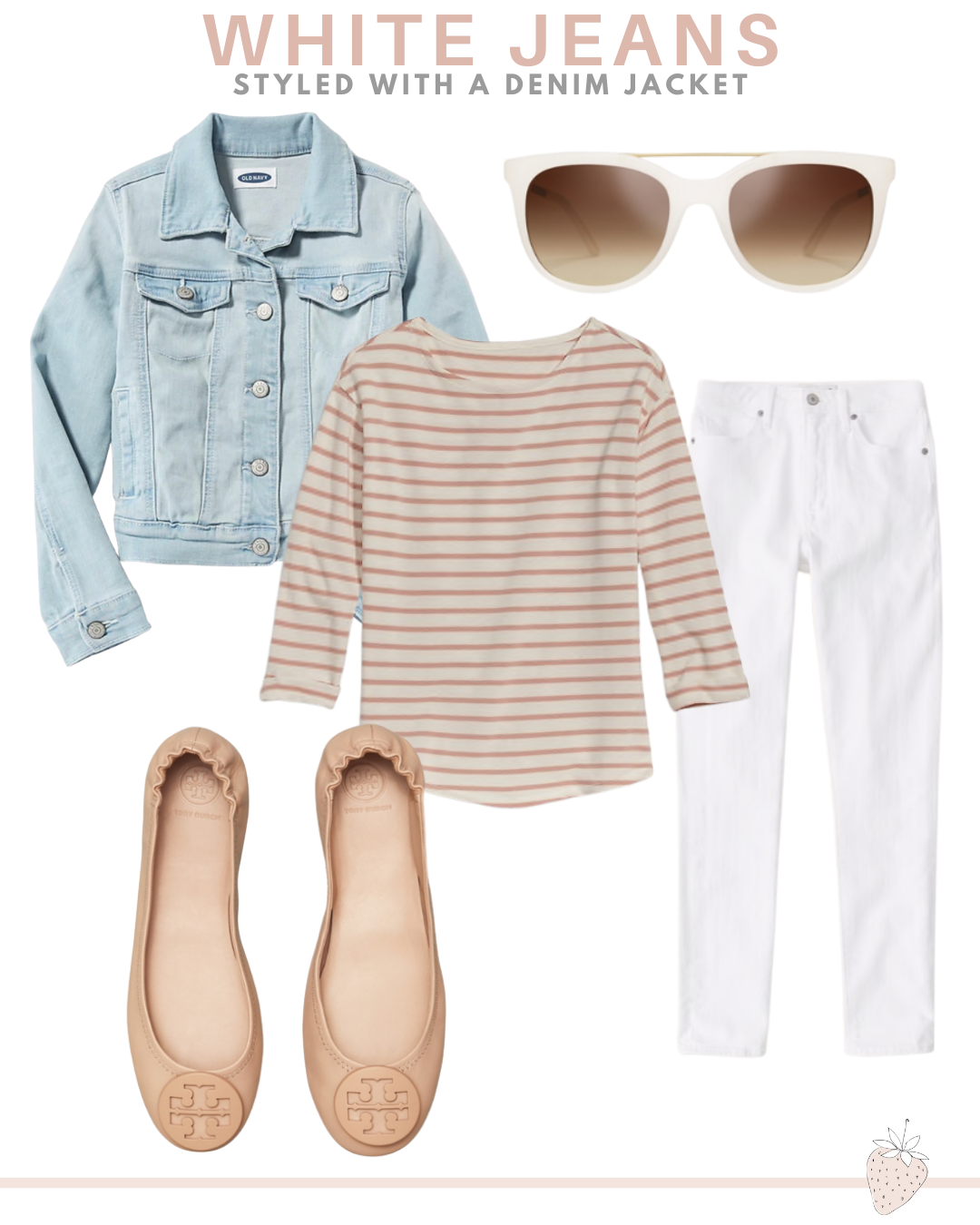 10 Different Ways to Style White Jeans