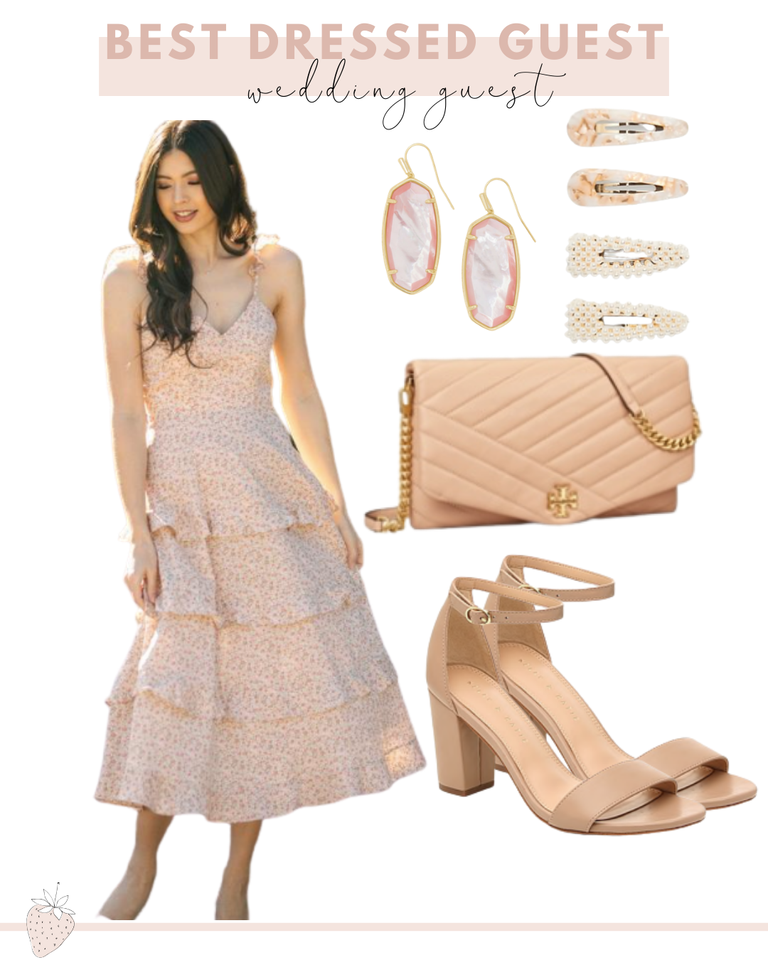 Best Dressed Guest Guide to Spring Events | spring wedding guest dress