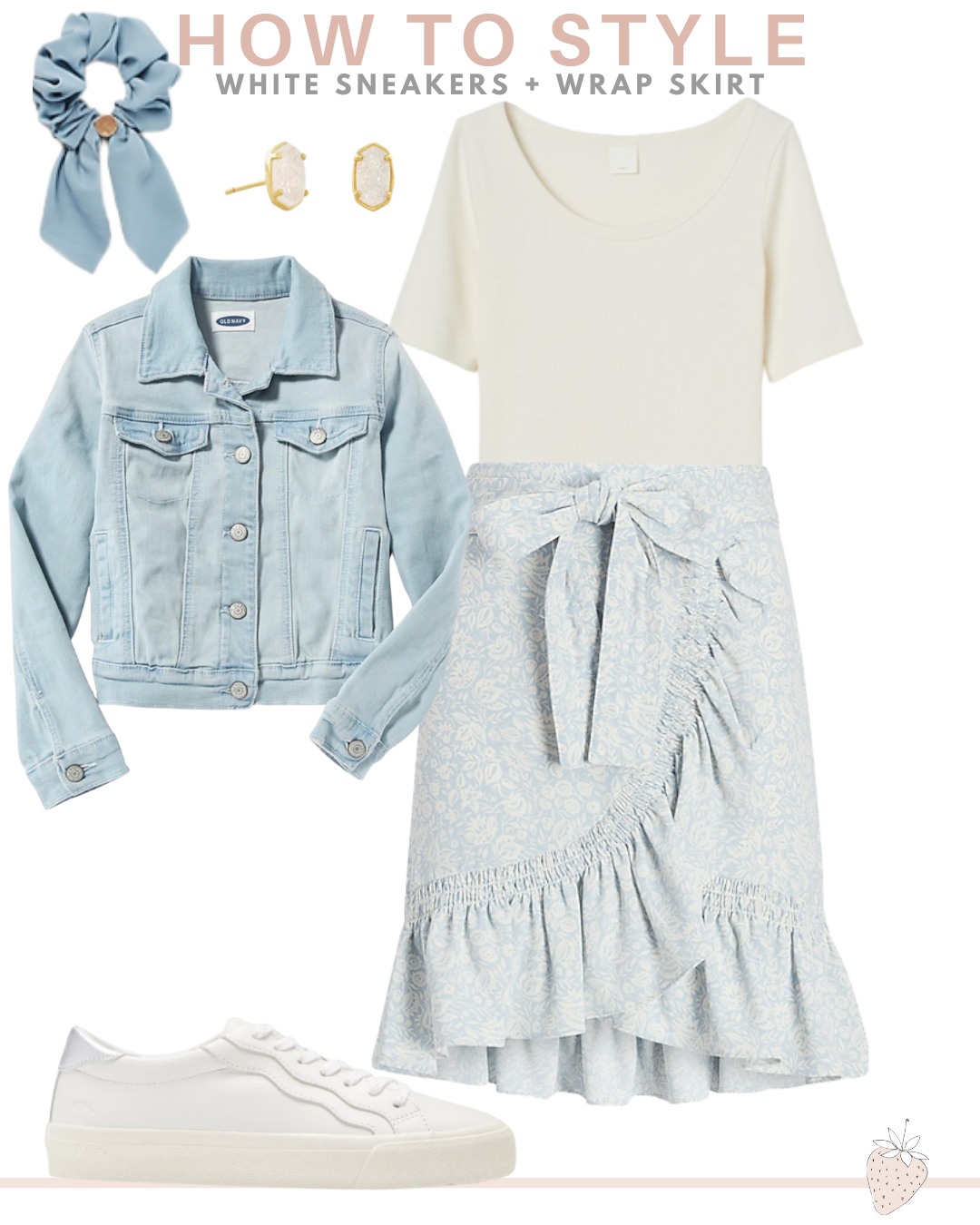 Different Ways To Style White Sneakers