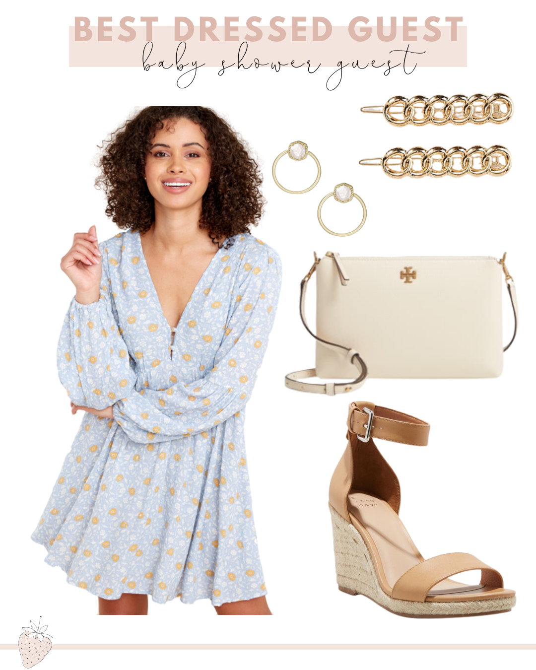 Best Dressed Guest Guide to Spring Events | spring baby shower guest dress