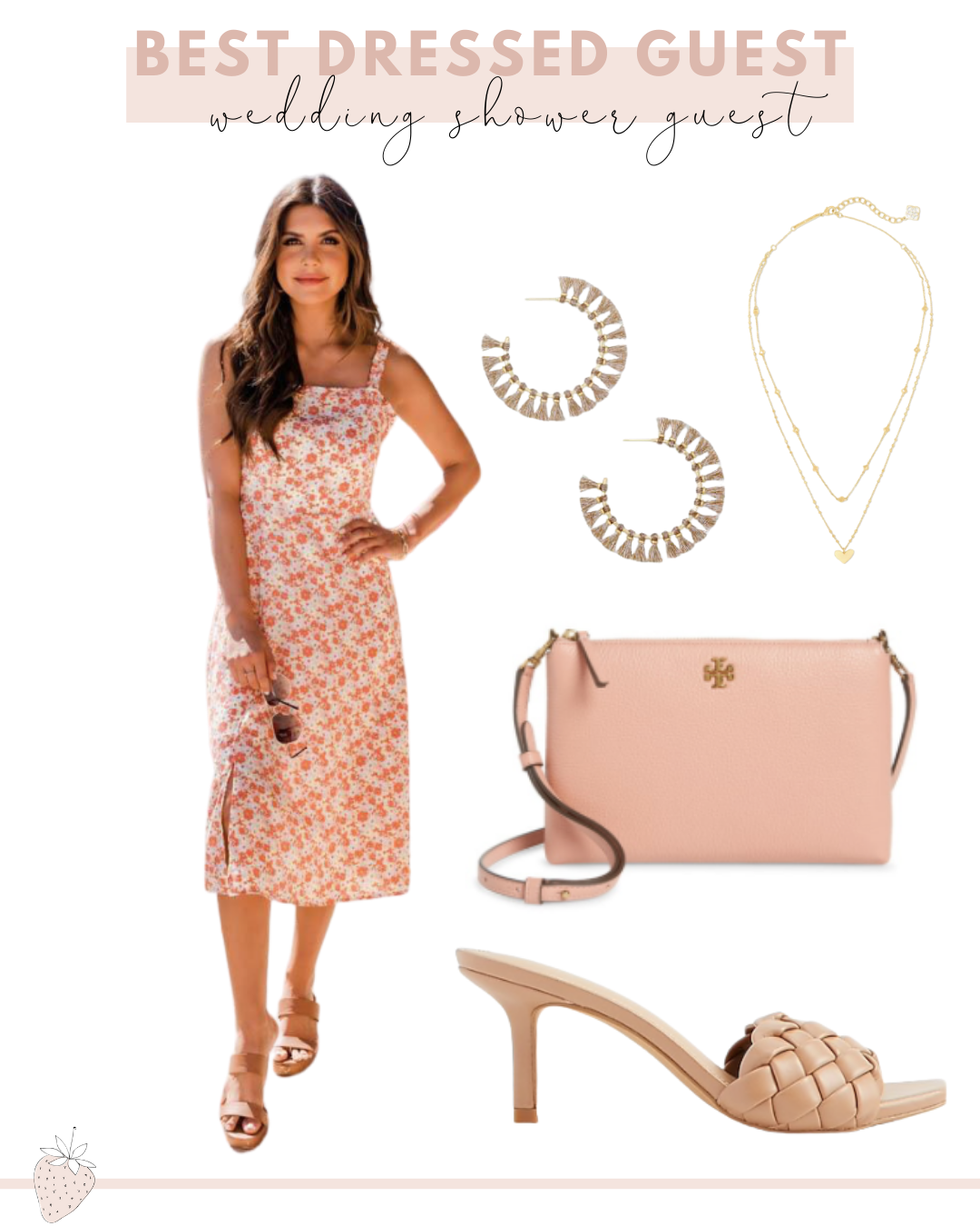 Best Dressed Guest Guide to Spring Events | spring wedding shower guest dress