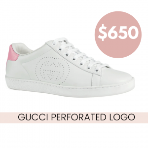 gucciperforatedlogosneakerreview