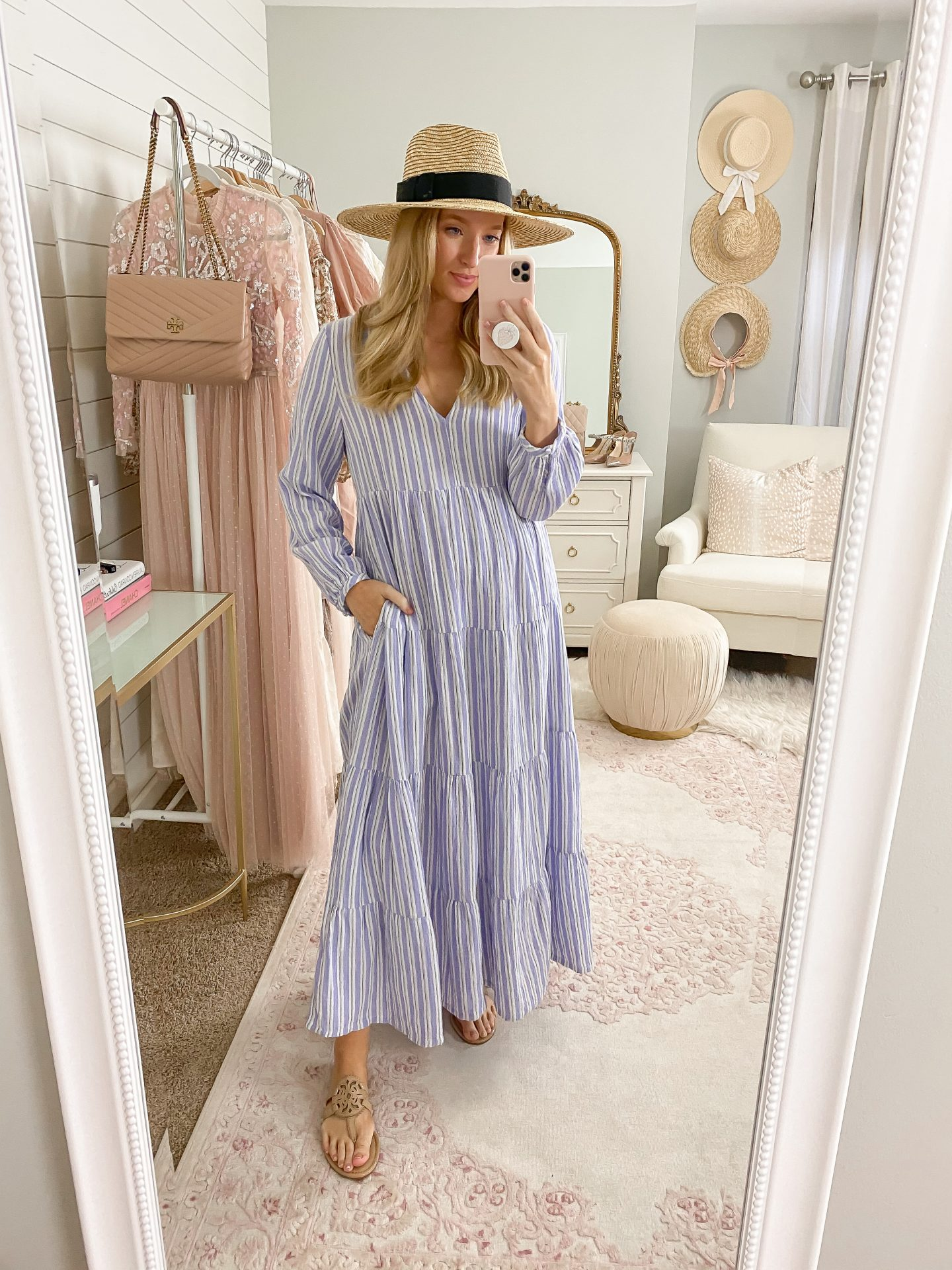 Spring maxi dress | My Favorite Looks From February