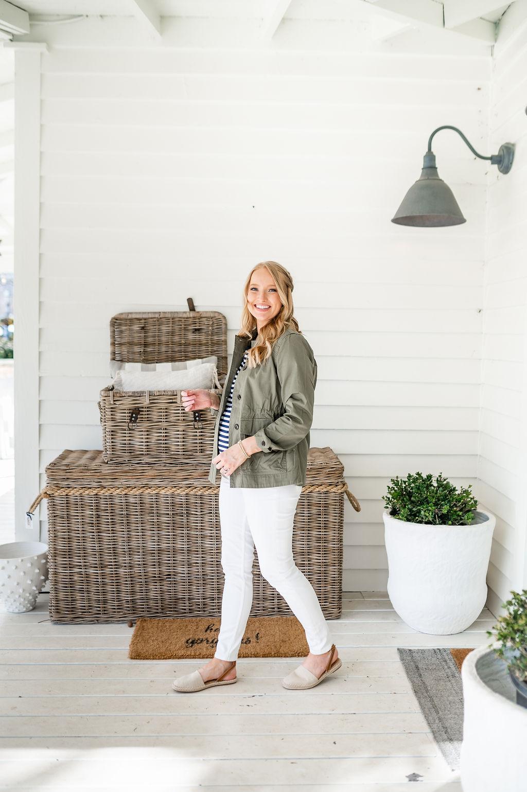 utility jacket under $40 | Spring Wardrobe Staple