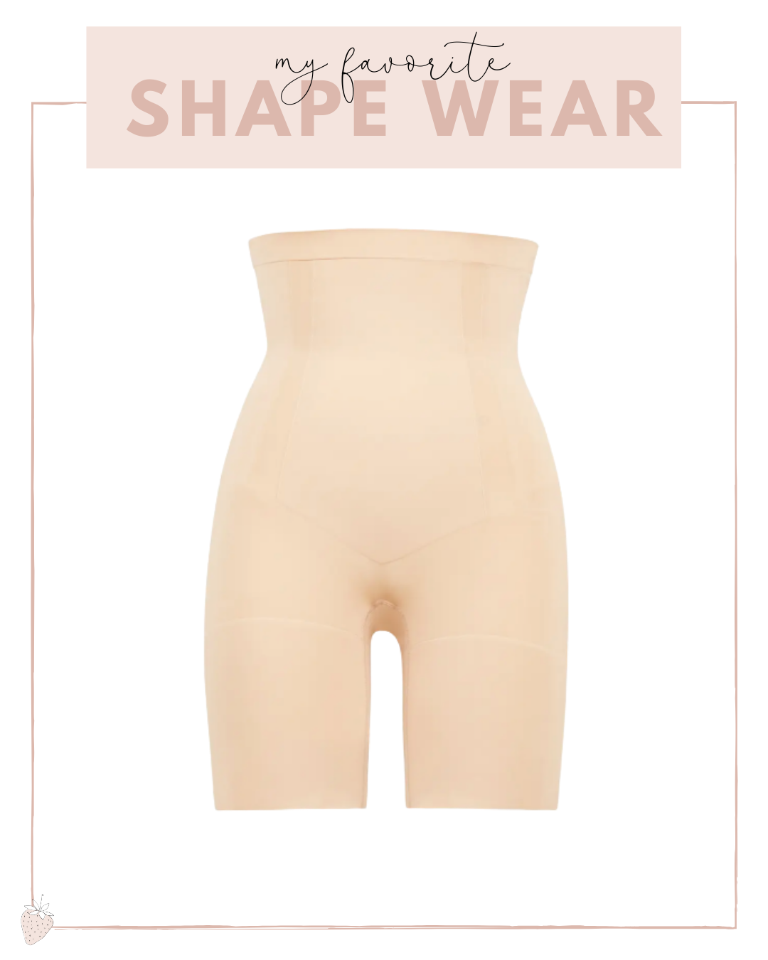 mid rise shape wear