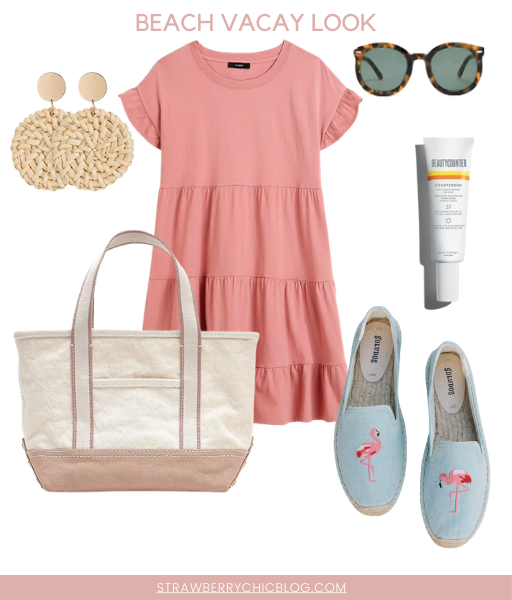 Summer trip outfit idea