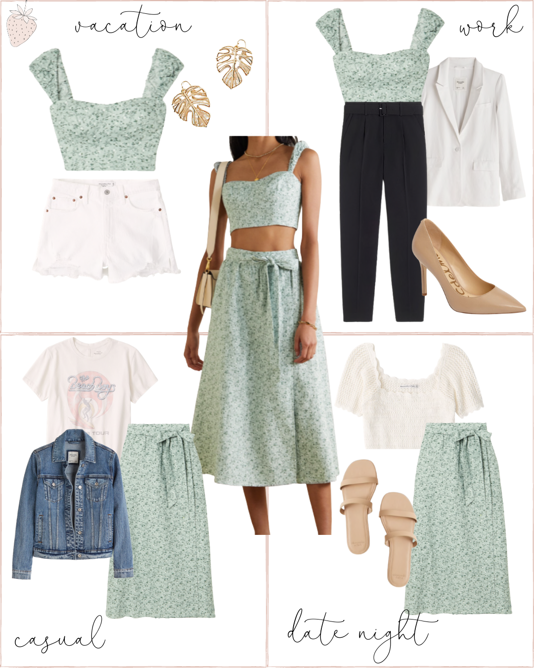 How to Style Matching Separate Sets - casual