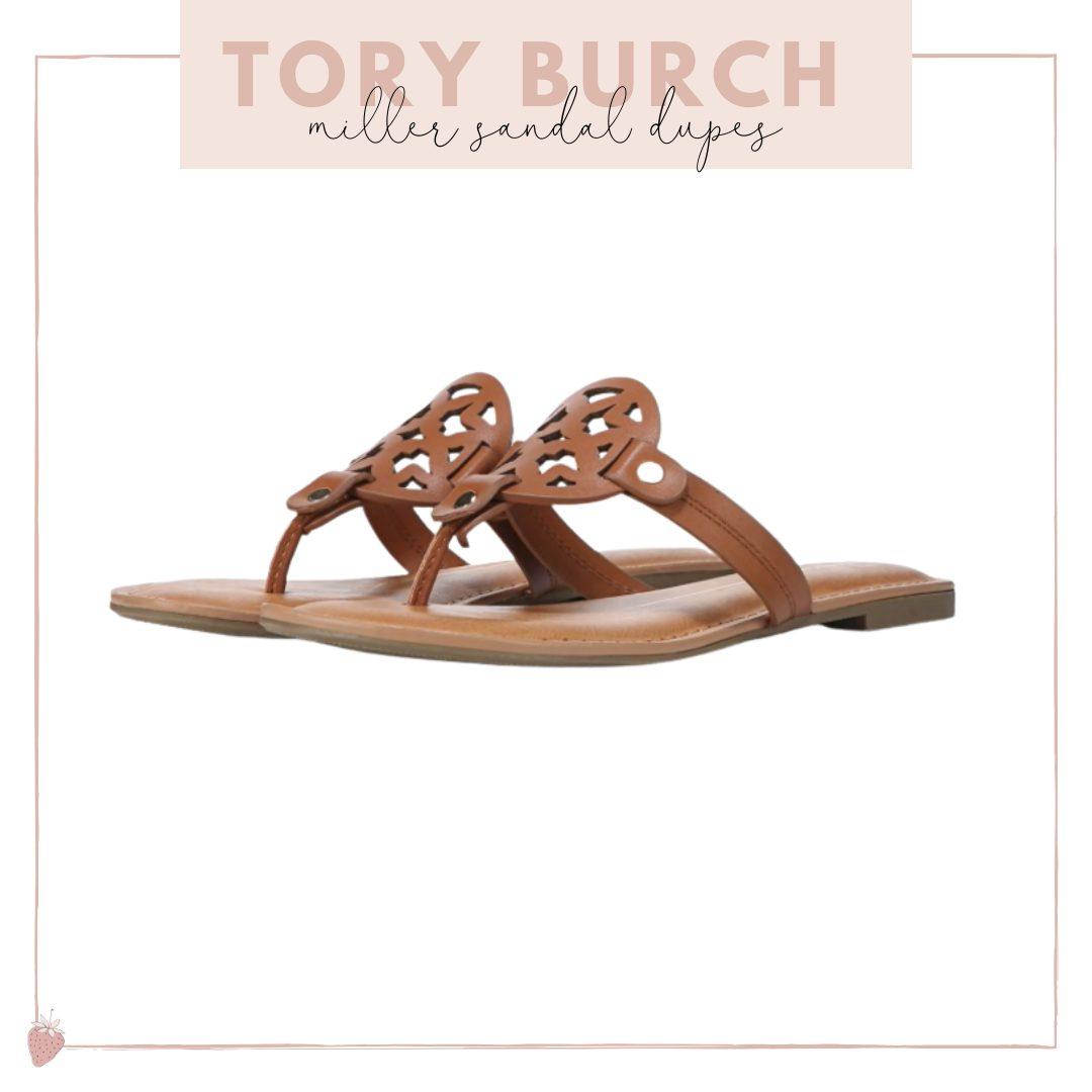 Tory Burch Miller Sandal Dupes