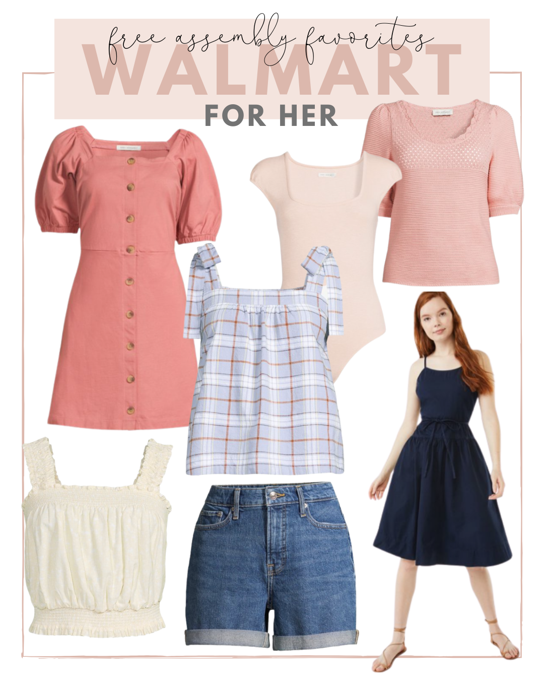 free assembly summer favorites for her