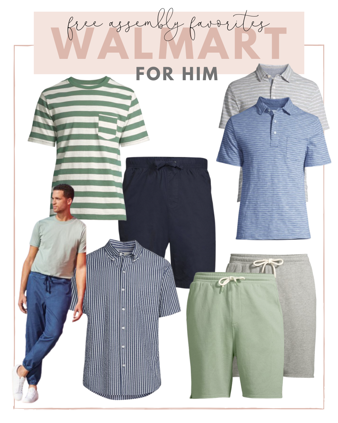 free assembly summer favorites for him