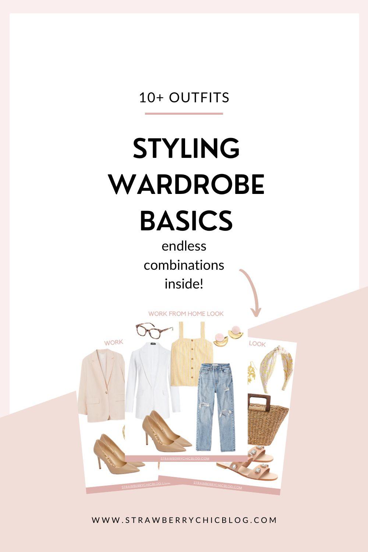 How To Style Classic Wardrobe Basics Shoppable Lookbook