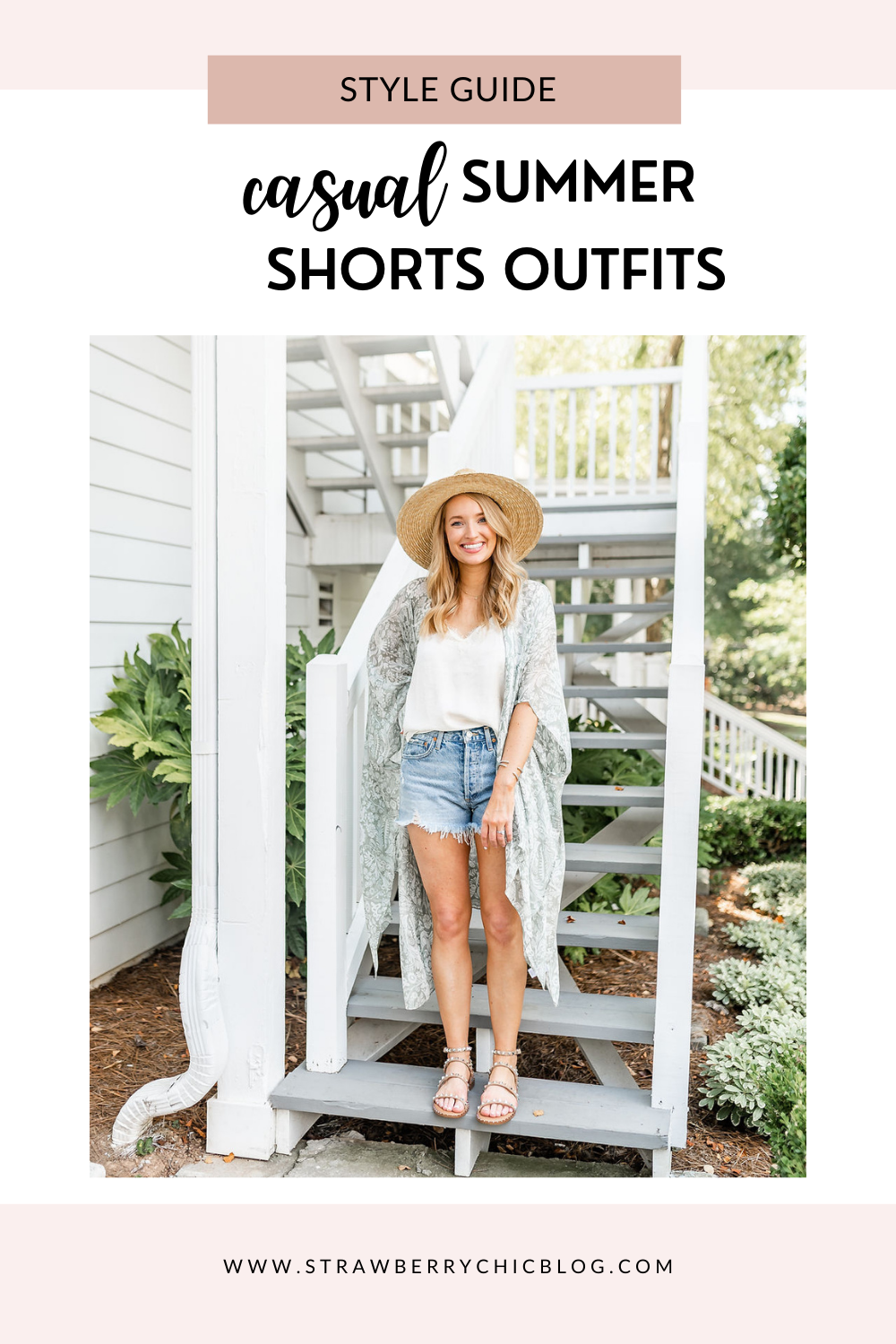 Style guide for casual summer shorts