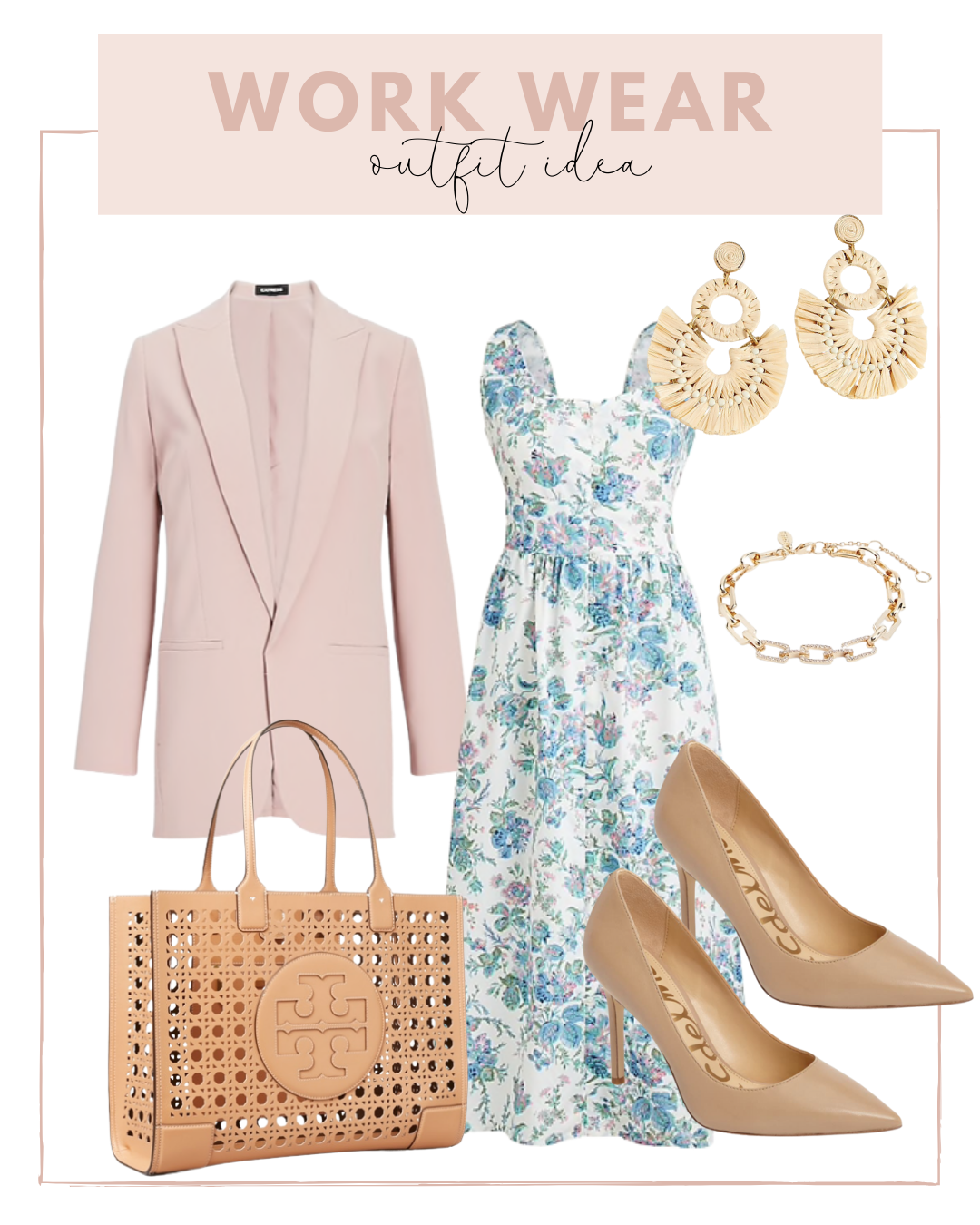 best summer office outfits   Work Wear Outfit with an Oversize Blazer