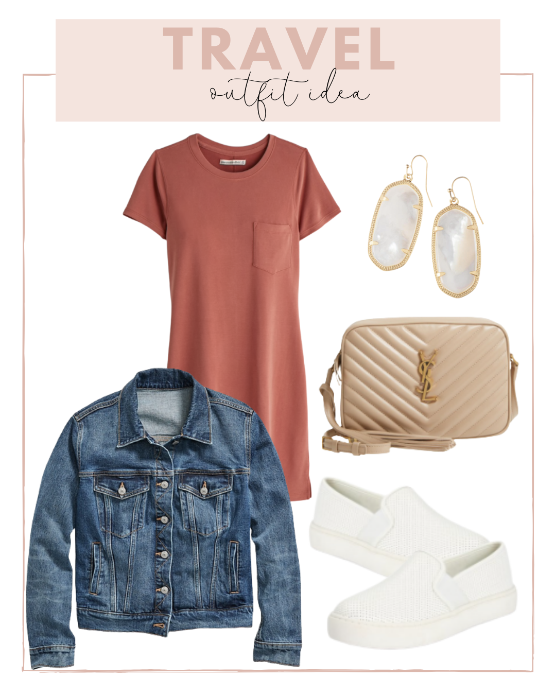 Casual Travel outfit ideas