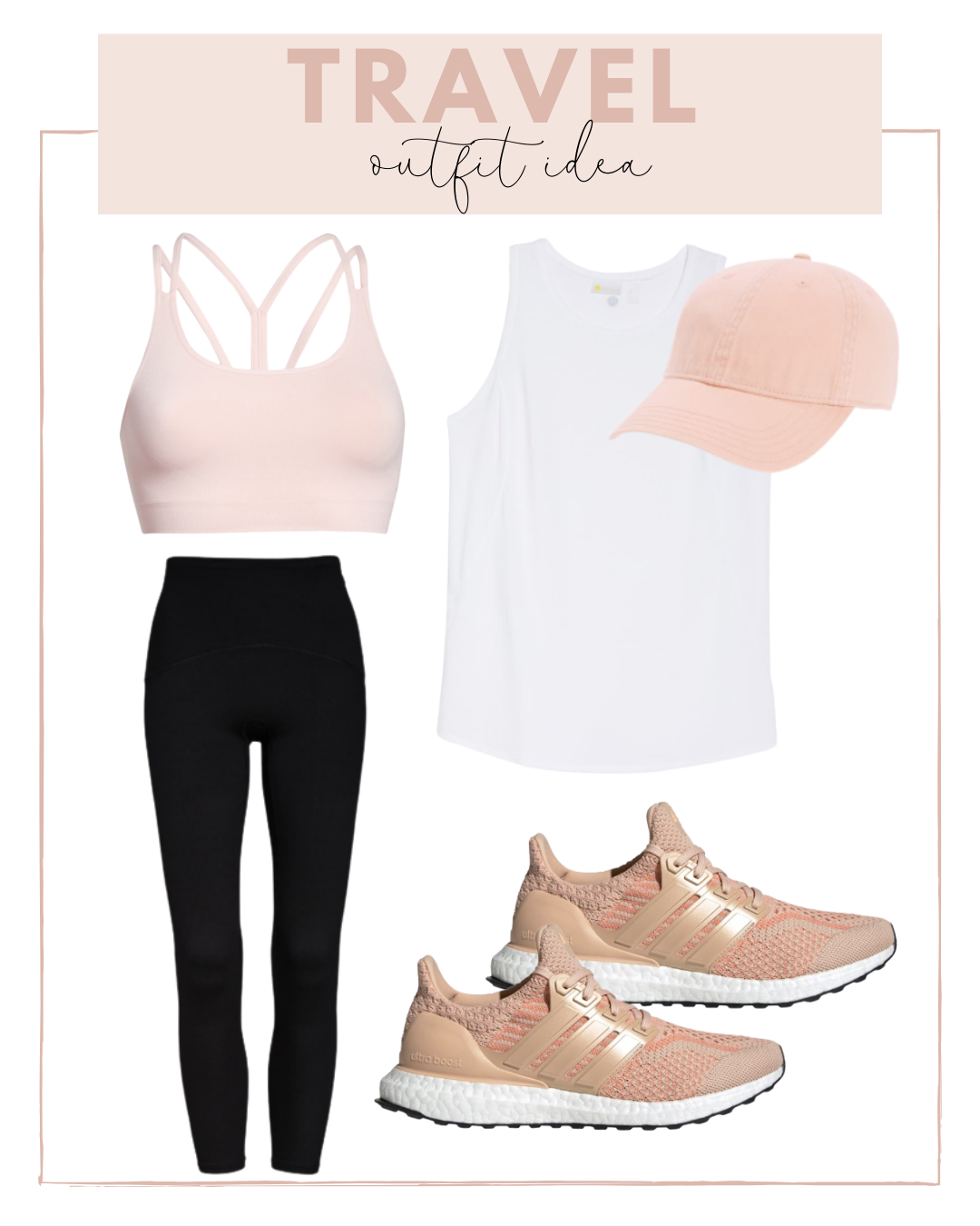 Athleisure outfits for traveling