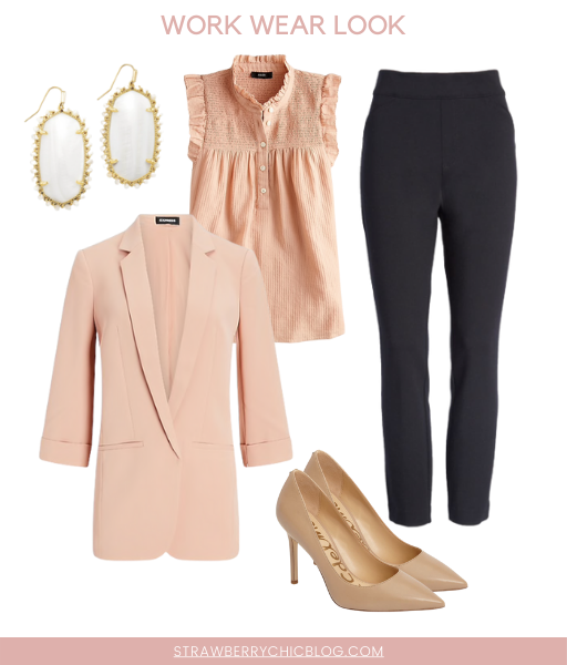 Workwear Outfit Ideas | How to build a workwear capsule wardrobe