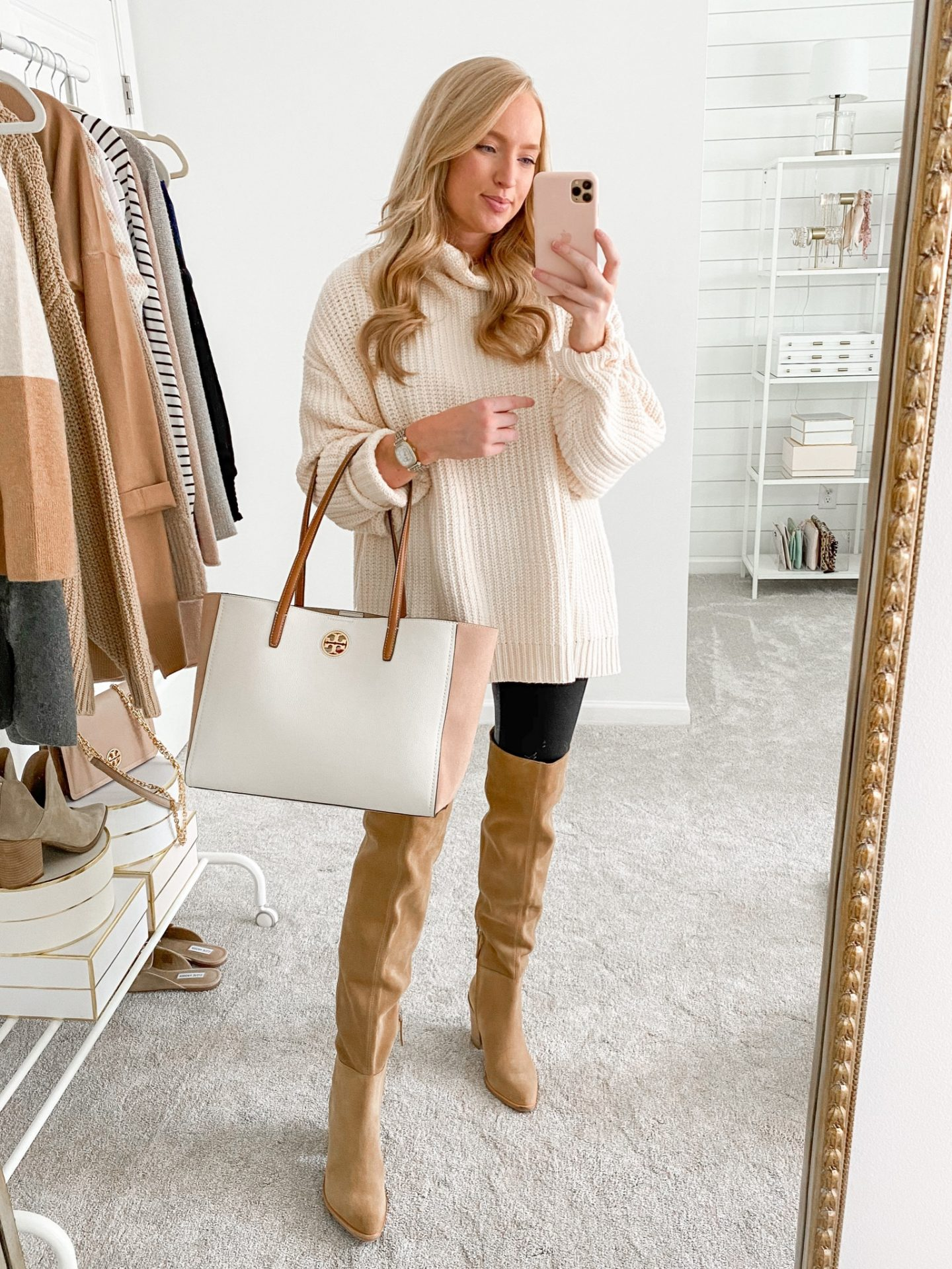How to Style Over the Knee Boots for Fall