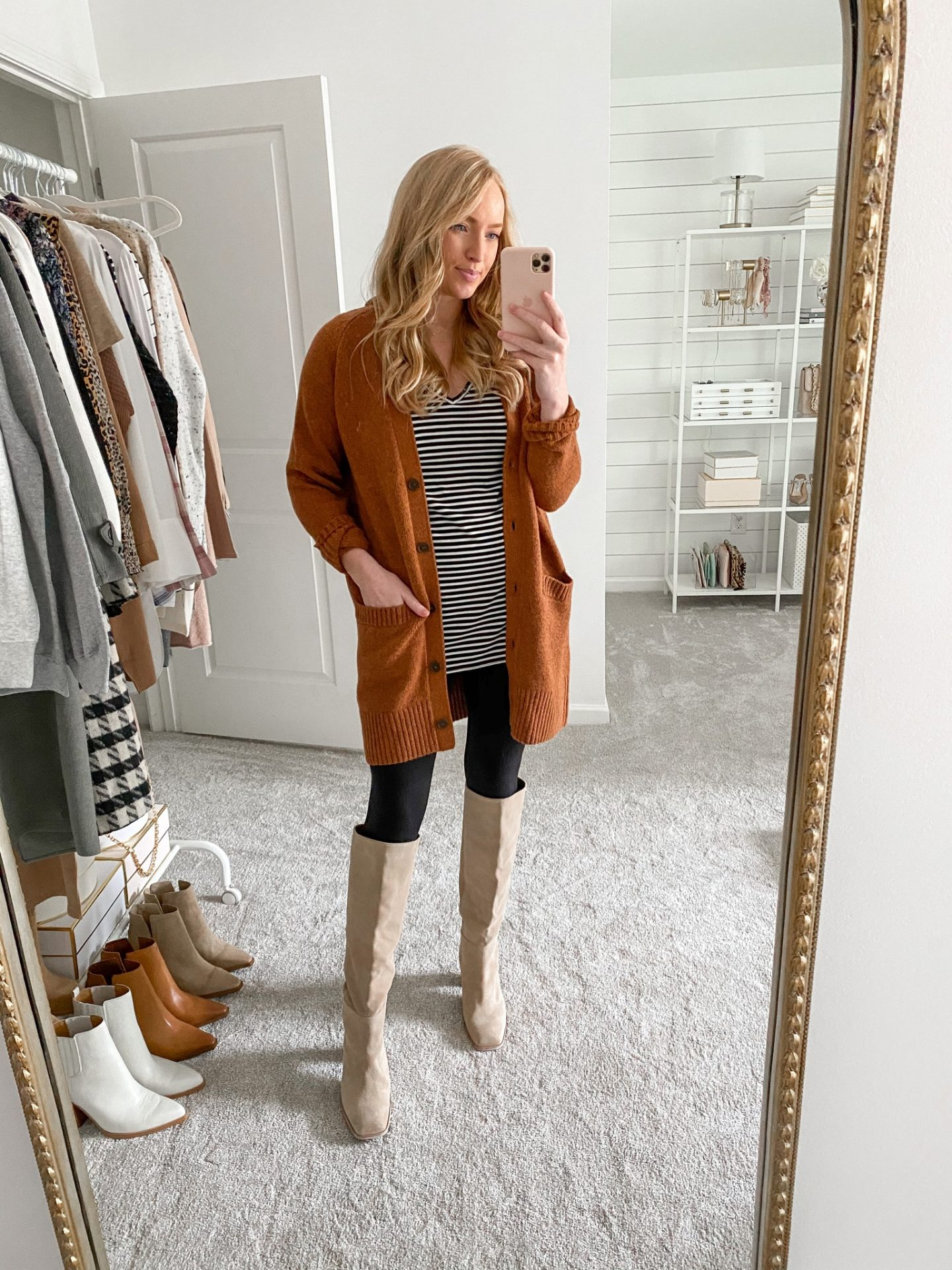 Nordstrom Brand Cardigan and V-Neck Tunic