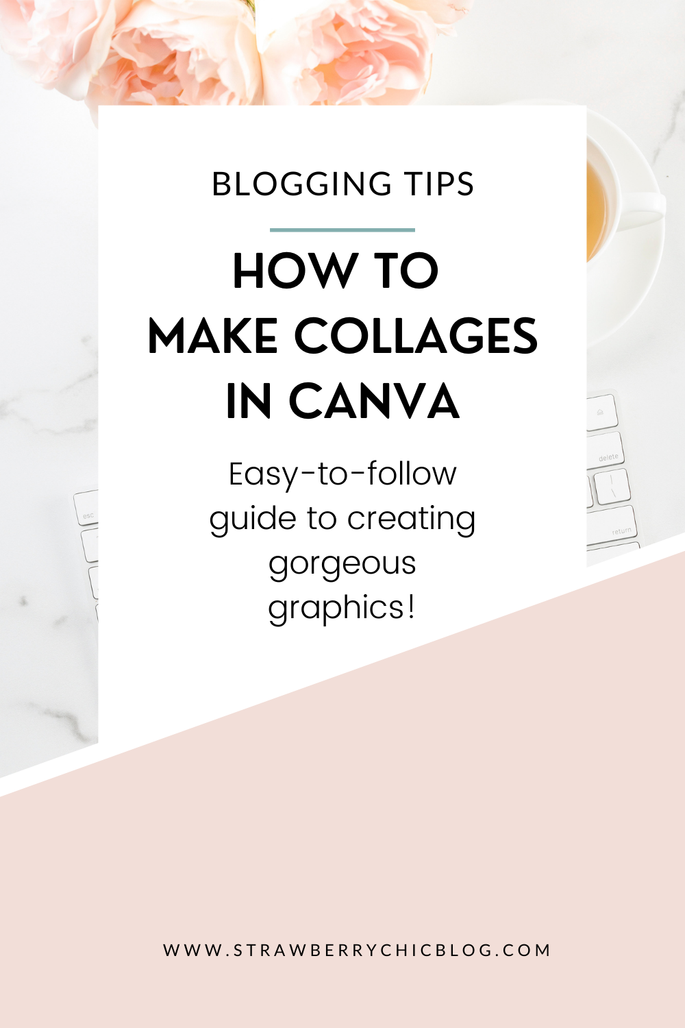 How To Make Collages in Canva Pinterest Graphic