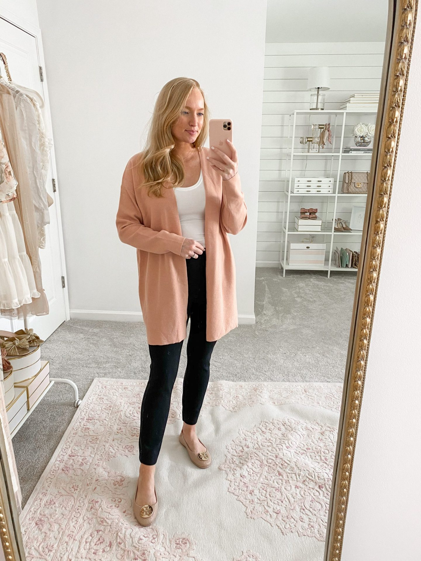 Classic Cardigan with a Bodysuit