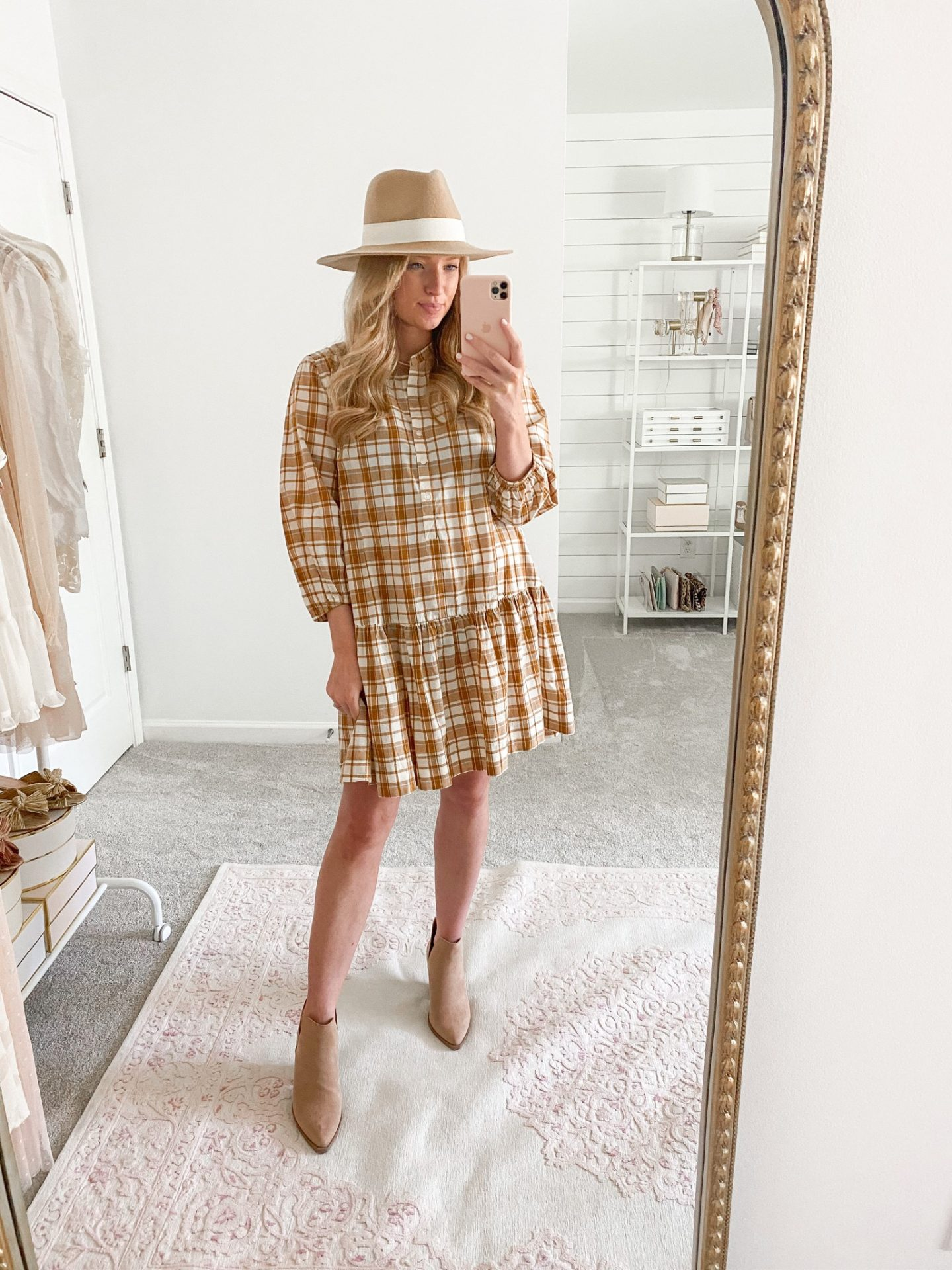Casual Dresses for Everyday Wear   Free Assembly Tiered Swing Dress