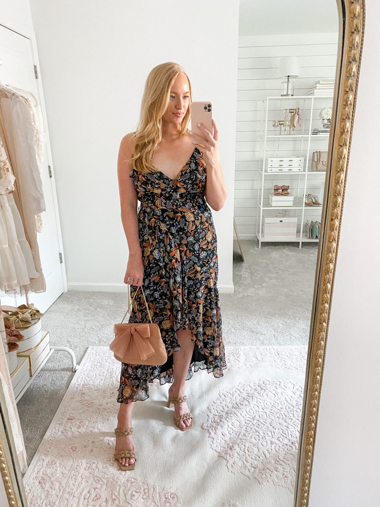 Floral dress for occasions