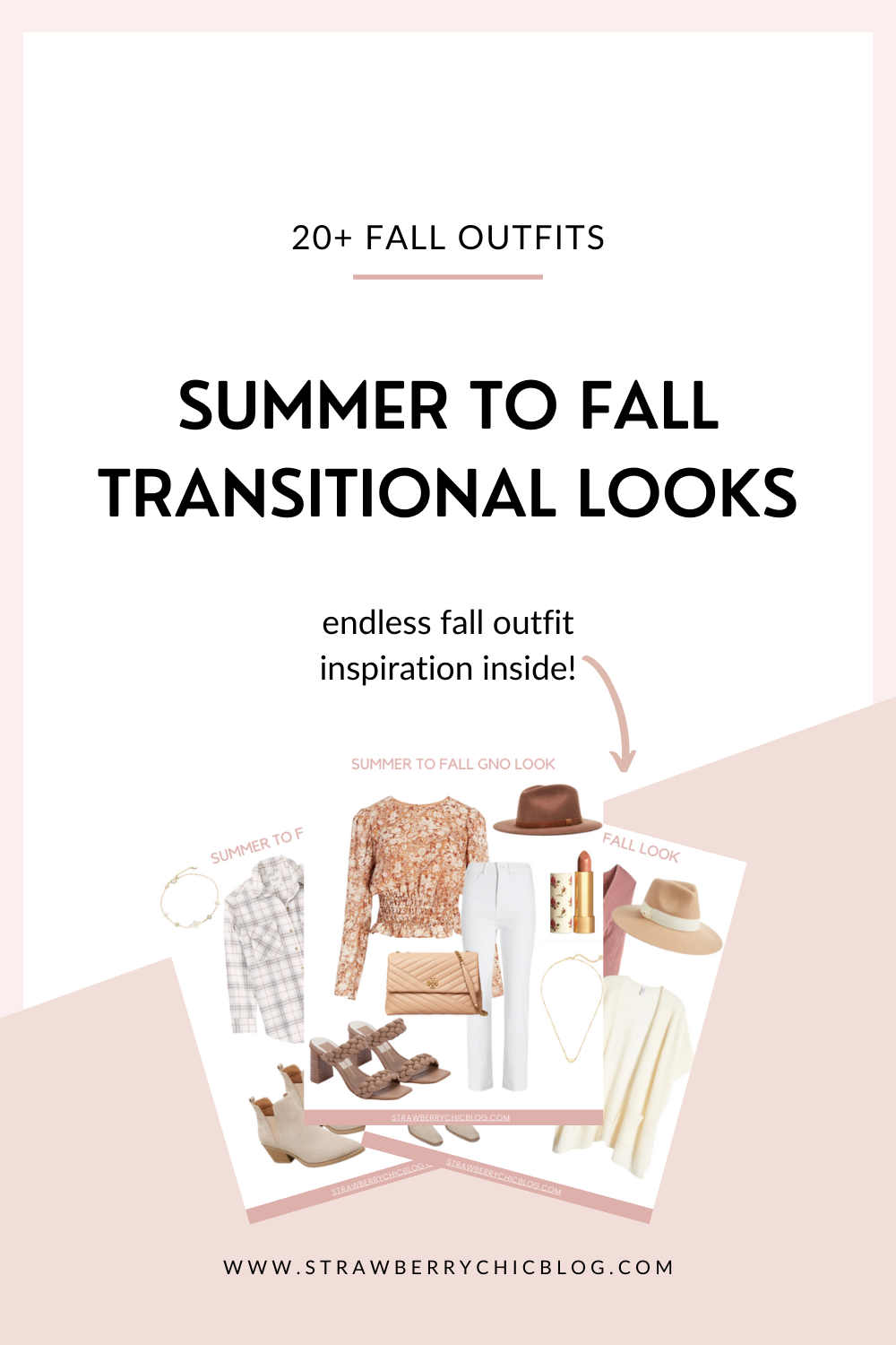 Summer to Fall Transitional Outfits + How to Style Them