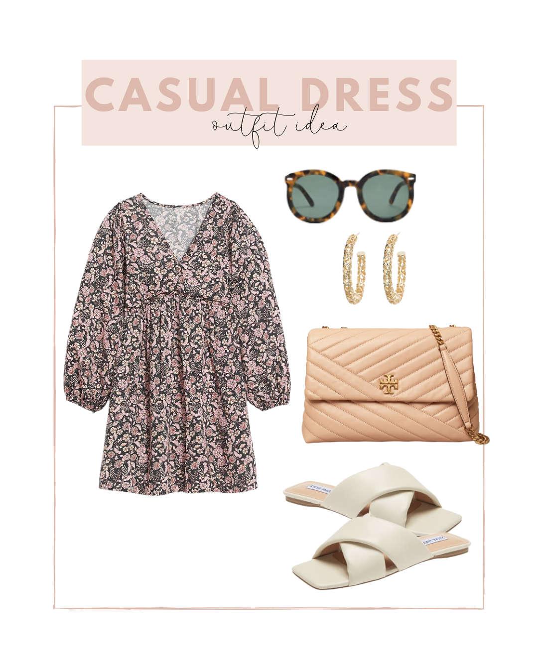 Long Sleeve Shift Dress outfit