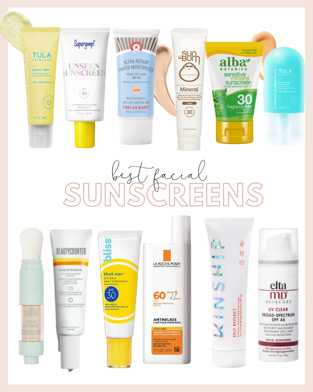 best daily sunscreens for your face