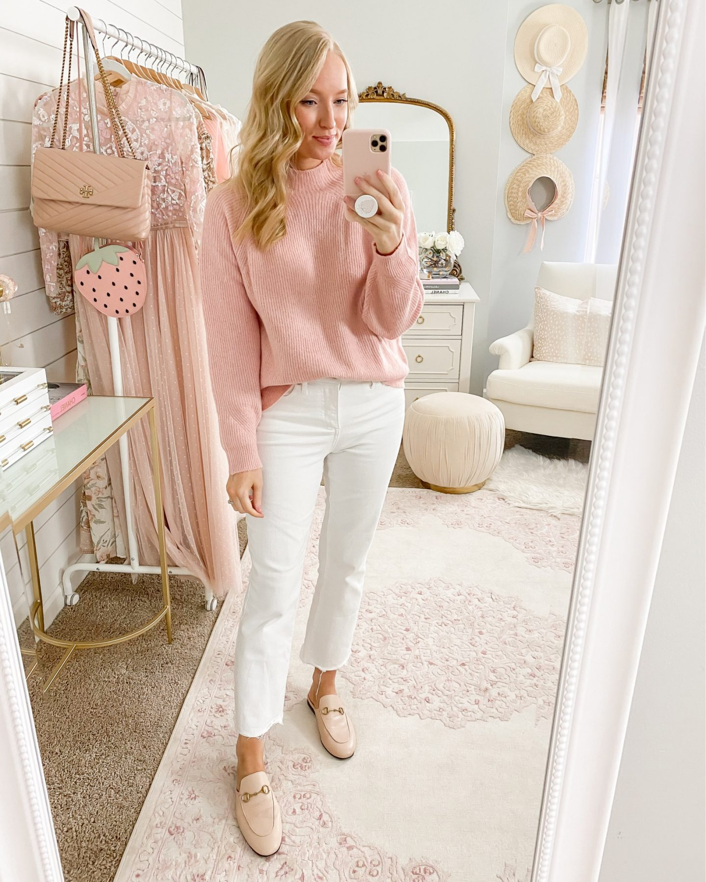 how to style white jeans after labor day